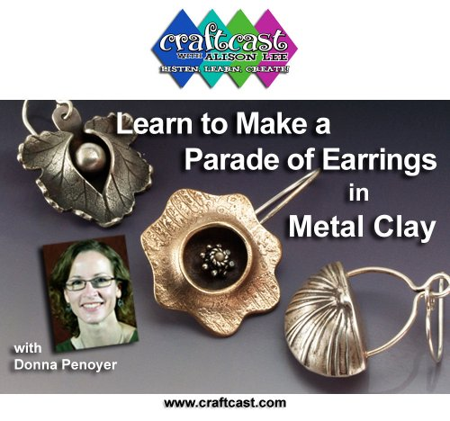 Learn to Make Earrings with Metal Clay and - Earwire Metal