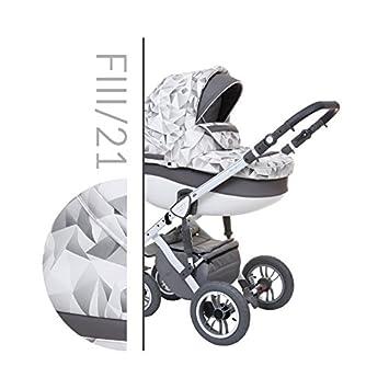 Baby Merc Faster III Carrito Cochecito 3en1+silla de coche (21): Amazon.es: Bebé