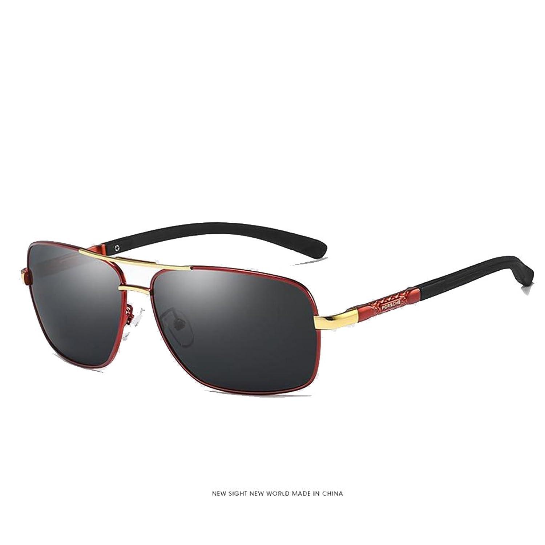 Gafas de sol para hombre Mujer Aviador Polarizado Unisex Marco de metal  Conducción UV De alta ec651c29165