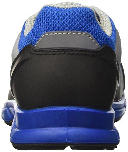 Diadora D-Flex Low O1 Fo SRC, Men's Safety Shoes Red (Blu Nautico)
