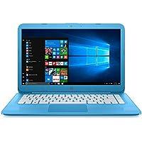 HP Stream 14-ax10nr Notebook PC - Intel Celeron N3060 1.6GHz 4GB 32GB eMMC Windows 10 Home - Aqua Blue (Certified Refurbished)