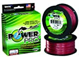 Power Pro Spectra with 100-Pound Test, 300-Yards, Vermillion Red Finish For Sale