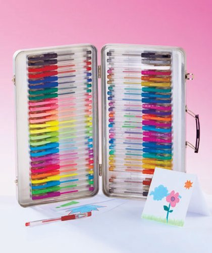 52-Pc. Gel Pens with Case by - Shop Hilltop
