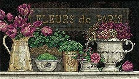 Dimensions Fleurs De Paris Black Amazon Co Uk Kitchen Home