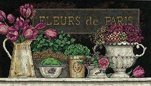 - Dimensions Needlecrafts Counted Cross Stitch by Kathryn White, Fleurs De Paris