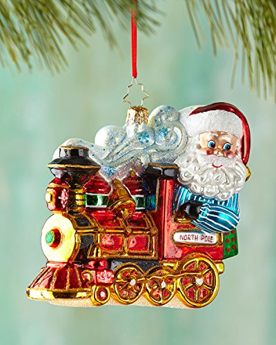 Christopher Radko North Pole Express Christmas Ornament