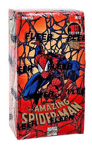 The Amazing Spider-Man 1st Edition Trading Cards Box -36 Count from Marvel