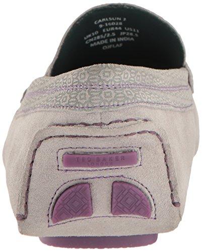 Ted Baker Hombres Carlsun 2 Slip-on Loafer Gris Claro / Multi