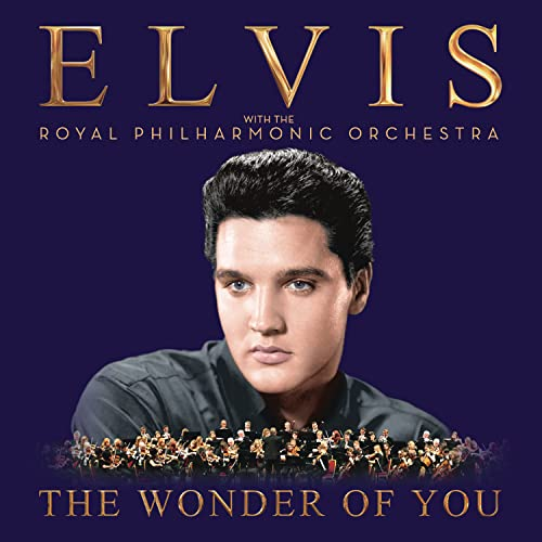 Elvis Cd Album (The Wonder of You: Elvis Presley with The Royal Philharmonic Orchestra)