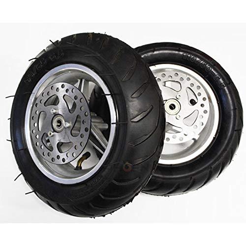 2866-2867 中華 ポケバイ F/R ローター付 タイヤ ホイール   B01CHPKSOI