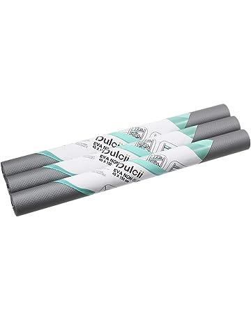 3 rollos de alfombrillas antideslizantes antideslizantes antideslizantes para frigorífico, antideslizantes, impermeables, antimoho,