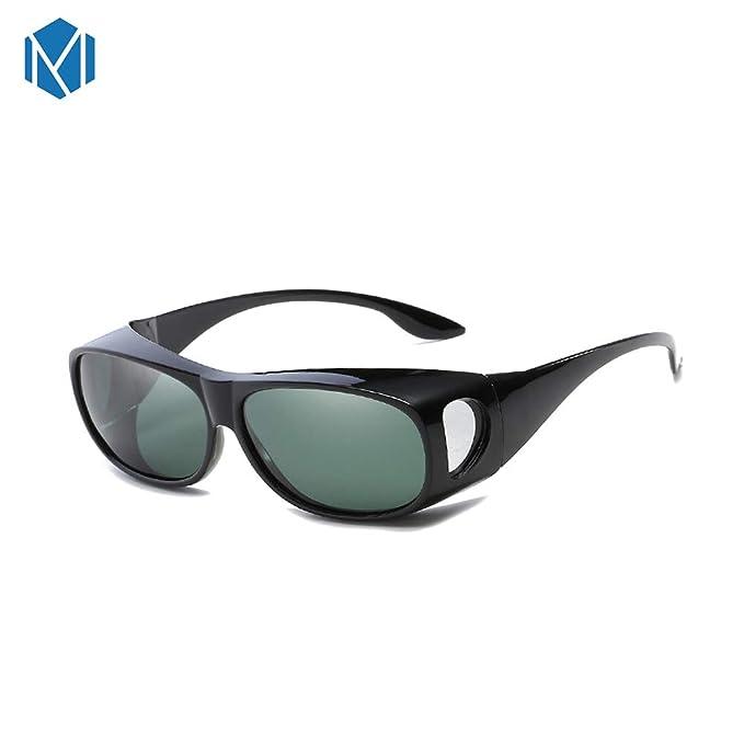 MISM Gafas de sol deportivas polarizadas para uso al aire ...