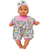 Air Baby Unbelievably Soft 13 inch Baby Doll Rattle Print by Goldberger Doll Mfg.