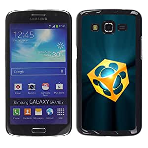 "For Samsung Galaxy Grand 2 II , S-type abstracto"" - Arte & diseño plástico duro Fundas Cover Cubre Hard Case Cover"