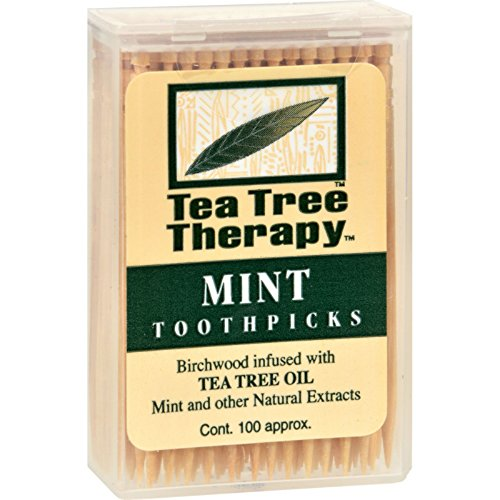 (Tea Tree Therapy, Toothpicks, 100 ct)
