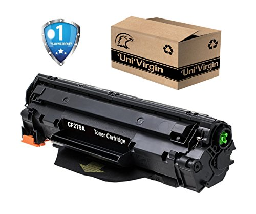 CF279A Toner Cartridge Compatible with HP 79A toner for use in HP LaserJet Pro M12a, HP LaserJet Pro M12w, HP LaserJet Pro MFP M26nw, HP LaserJet Pro MFP M26a Printer by UniVirgin - Black/1 Pack