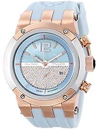 Unisex MW5-1621-423 Analog Display Swiss Quartz Blue Watch