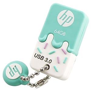 HP 64GB USB 3.0 Rubber Ice Cream Flash Drive