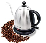 Elementi Premier Electric Gooseneck Kettle for Pour...