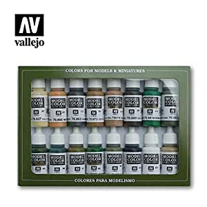 Vallejo WWII Allied Forces Paint Set 9, 17ml