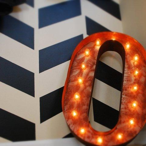 "Letter O - 24"" Vintage Marquee Lights - The ORIGINAL!"