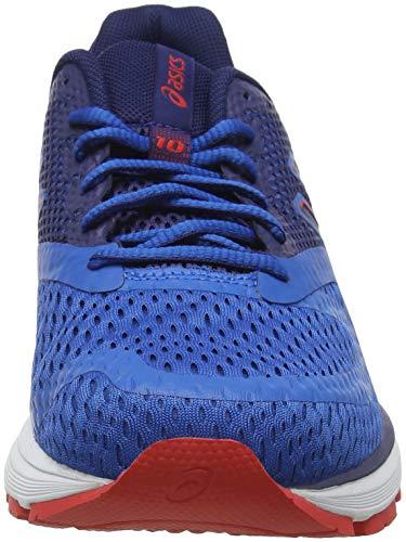 Running 400 Hombre 10 Gel Deep Racer Ocean de Pulse Blue para Zapatillas Asics Azul xqfXO0x
