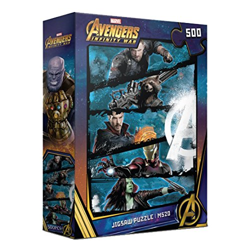 低価格の 500Piece 500Piece B07CNNXHLM Jigsaw Puzzle MARVEL Avengers Infinity War Infinity III B07CNNXHLM, 華麗:2cfc3a18 --- fenixevent.ee