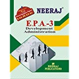 EPA3-Development Administration (IGNOU help book for EPA-3 in English Medium)