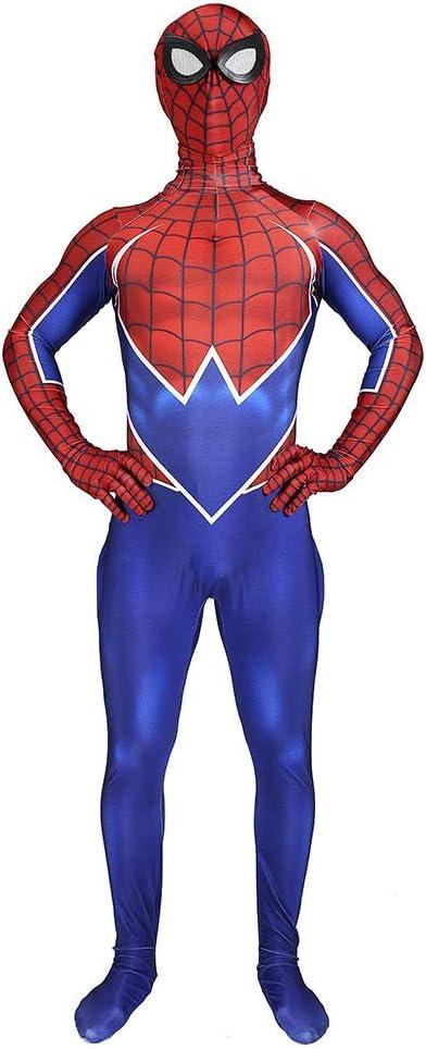 ERTSDFXA Spiderman PS4 Punk Disfraces Adulto Nino Disfraz De ...
