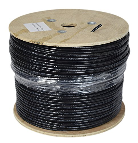 New Full Copper 1,000 ft Cat6 Ethernet Cable / Wire 1,000ft Cat-6 Waterproof Outdoor / Direct Burial / Underground ~ by VIVO (CABLE-V010) by VIVO (Image #2)