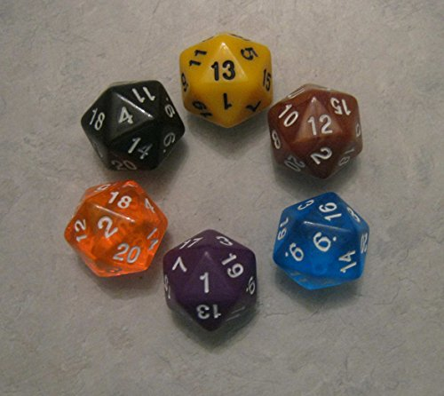 12x d20 Polyhedral Dice Pack product image