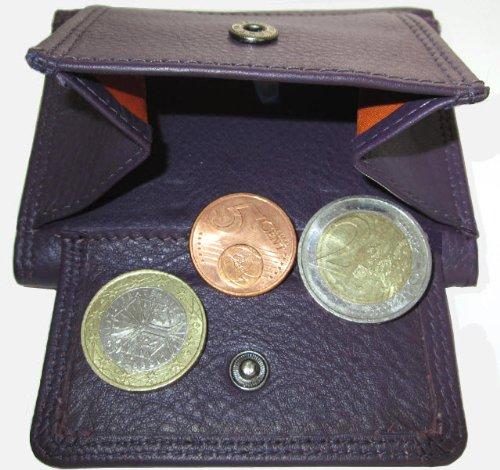 Custodia a libro in pelle JOSYBAG grumo calmuc di credito Mini miniportafoglio paccs borsa viola lilla dimensioni per carte di credito