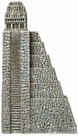 "Hydor H2Show Lost Civilization - Left Aztec Pyramid Decoration, 12"" x 7"" x 2.8"""