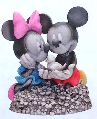 - Disney Parks Exclusive Mickey Minnie Mouse Bird Garden Figurine Indoor Outdoor Statue Flower and Garden Festival