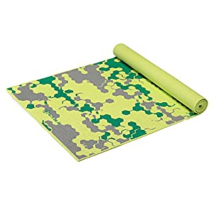 Gaiam Kids Yoga Mat Exercise Mat, Yoga for Kids with Fun Prints Playtime for Babies, Active & Calm Toddlers and Young Children