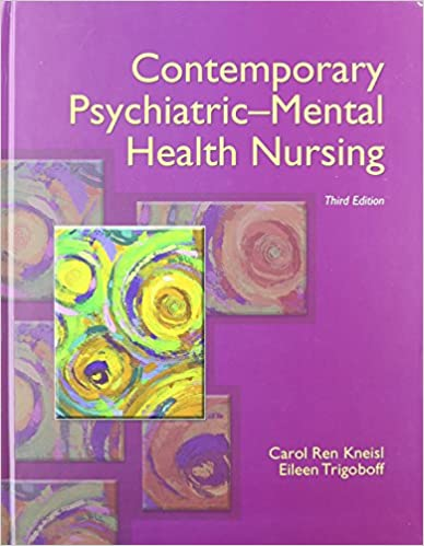 Contemporary Psychiatric Mental Health Nursing With Dsm 5 Transition