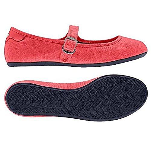 Adidas Easy Five Ballerina W Schuhe Ballerinas Damen Rot