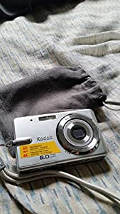 Kodak EasyShare M883 8MP 3x Optical/5x Digital Zoom HD Camera (Silver)