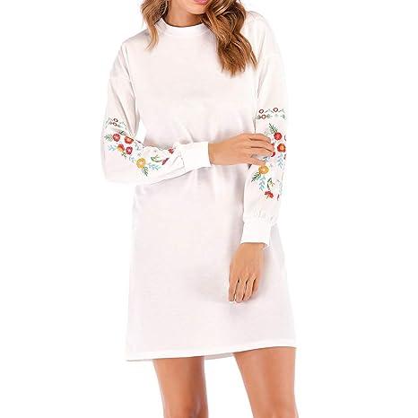 timeless design e0a89 9873d Vestiti Donna Elegante,Donne Natale Stampato Pizzo Abito ...