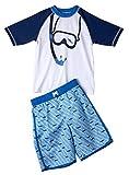 iXtreme Boys Scuba Print Rashguard Swimwear Set