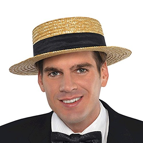Skimmer hat Costume Accessory -