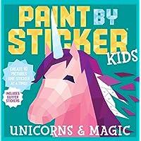 Deals on Paint by Sticker Kids: Unicorns & Magic Paperback