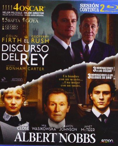 Pack: El Discurso Del Rey + Albert Nobbs (Blu-Ray) (Import Movie) (European Format - Zone B2) (2012) Colin Fir