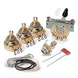 (US) Golden Age Premium Wiring Kit for Stratocaster