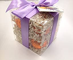 Gift Set for Him with 6 foil wrapped 2.5 oz bath bombs, great for dry skin, Best Sellers, Manly scents (6-Pack)