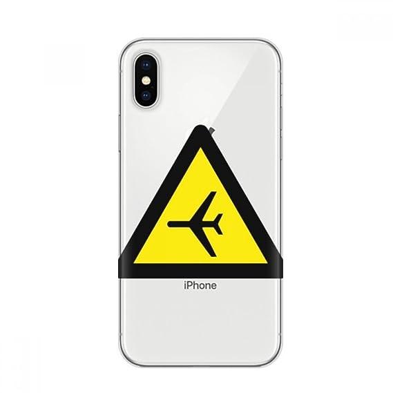 Amazon Warning Symbol Yellow Black Plane Triangle Apple Iphone