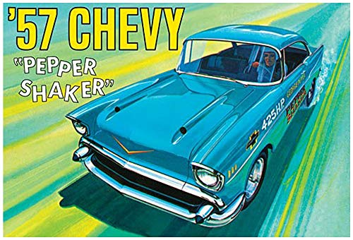 AMT 1:25 1957 Chevy Pepper Shaker - AMT1079 (57 Chevy Model Kit)
