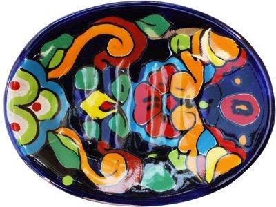 Fine Crafts Imports Rainbow Mexican Talavera Soap Dish