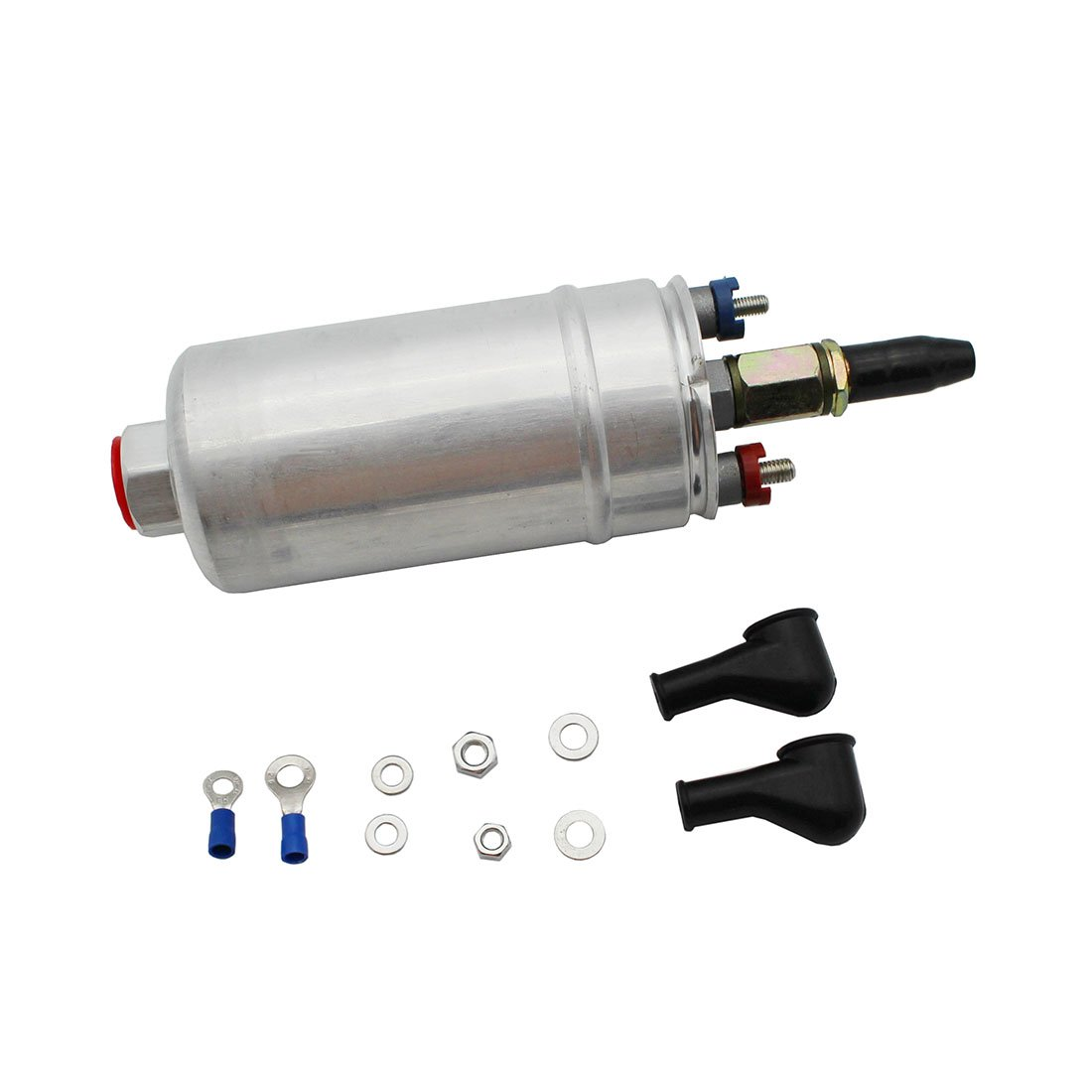 GoodQbuy® Universal External Inline High Performance 300 LPH Inline Fuel Injection Pump for Racing Cars Replacing BOSCH 0580254044 0580 254 044 GoodQbuy® AT-300L
