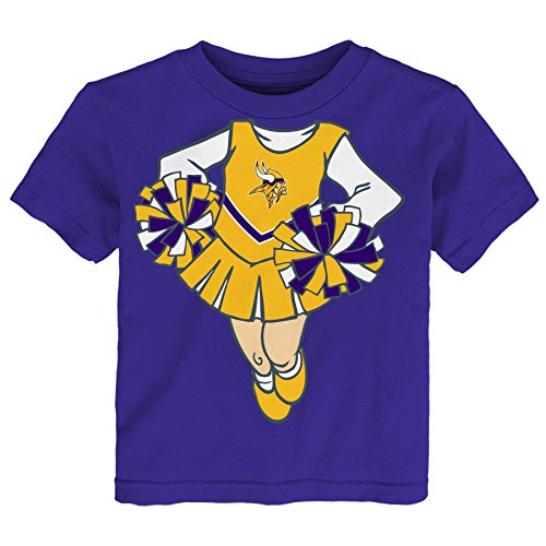 NFL Cheerleader Girls Short sleeve Tee
